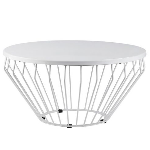 Metal wire black powder coated coffee table