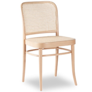 Wooden Cane Chair in natural for wholesale