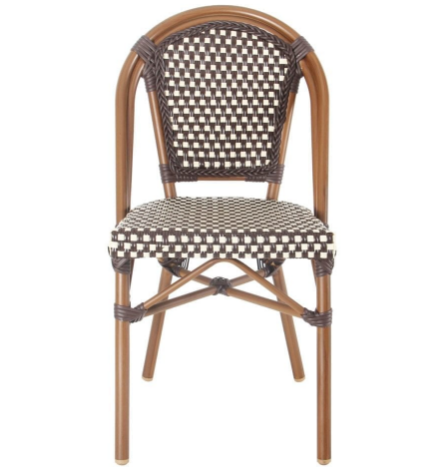 Rattan french bistro dining chair