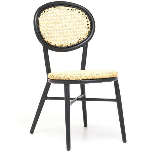 Aluminum Bistro Cafe Chair