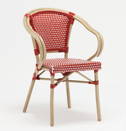 Outdoor French Bistro Stacking Cafe Chair