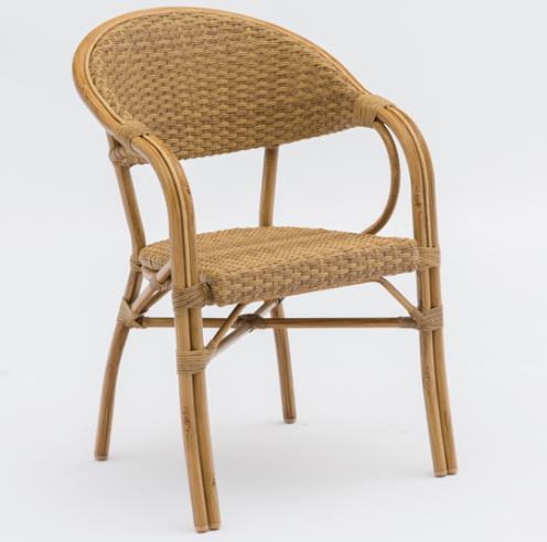 Rattan Stackable Dining armchairs