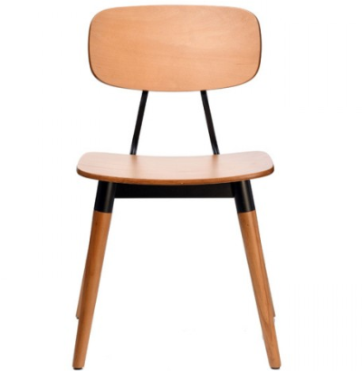 Modern design Plywood Seat Cafe Restaurant Dining Chair