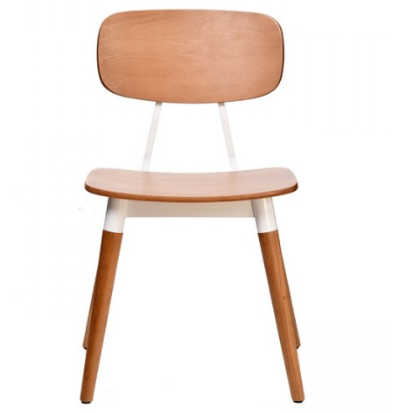 Plywood Seat Cafe Restaurant Dining Chair