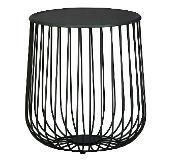 powder coated wire side table