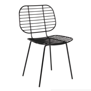 Wholesale black Wire Cafe Chair