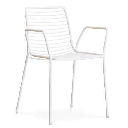 Outdoor commercial furniture stackable Wire Chair