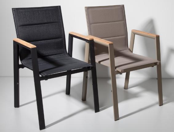 Garden Leisure Aluminium Textilene Fabric Outdoor Chair