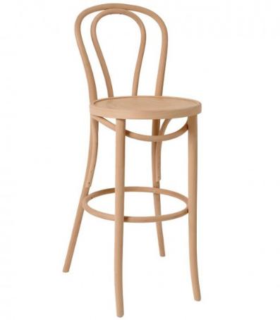thonet bentwood bar stool