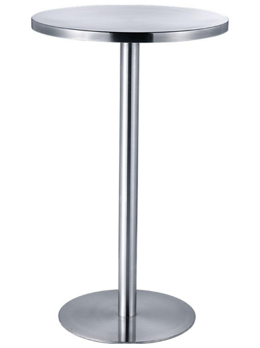 Stainless steel round bar table for wholesale
