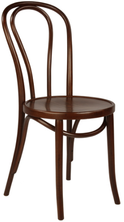Replica Thonet bentwood chair - Brown