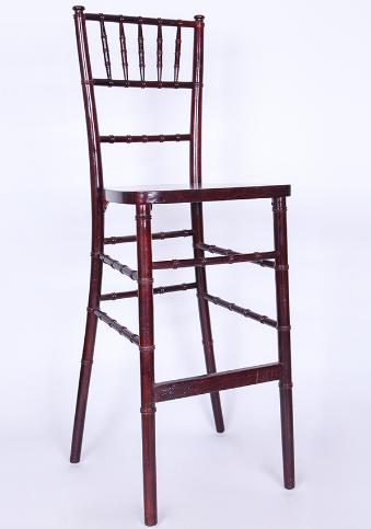 High quality wood chiavari tifany bar chair