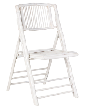 Natural bamboo folding chair for wedding