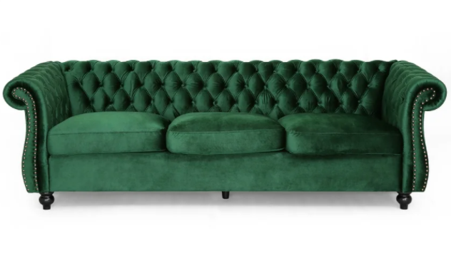 Chesterfield Tufted Velvet Luxurious living room Sofa