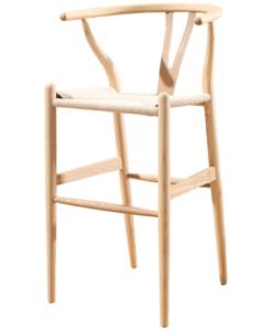 Hans Wegner style wishbone bar chair