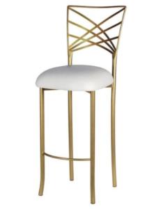 Wedding chair metal frame Chameleon barstool chair
