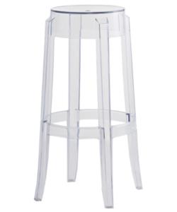 Devil Stool Clear transparent Acrylic Ghost bar stool