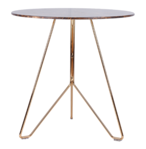 Modern design metal wire round dining table