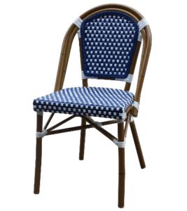 Aluminum Bamboo Bistro Cafe Chair