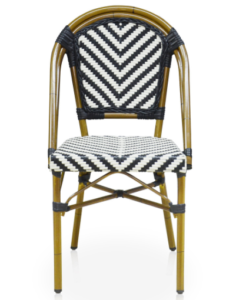Bamboo look french style bistro restaurant chairs