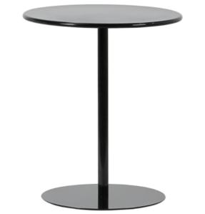 Modern design black powder coating metal side table
