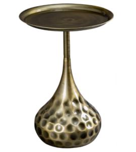 Luxury design metal mini side table for wholesale