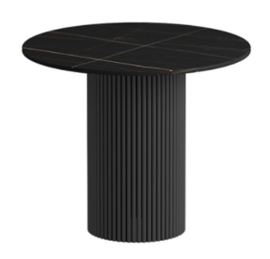 New style sintered stone top with metal base coffee table